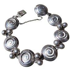 Vintage Taxco Victoria Sterling Bracelet