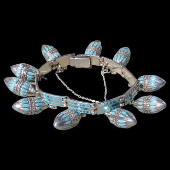 Margot de Taxco Fanciful Pendant Bracelet