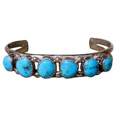 Vintage Native American Turquoise Cuff