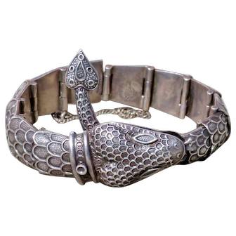 Margot de Taxco 5554 Serpent Bracelet