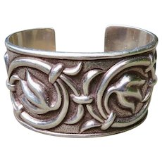 Vintage Taxco Sterling Cuff