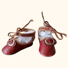 Hard to find antique Bébé Shoes Fischer & Nomann size 4