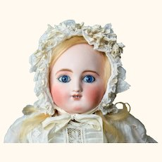 Beautiful Antique French Steiner Gigoteur Doll