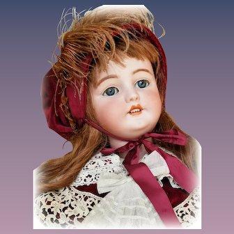 Gorgeous Life Sized Antique Bisque  Simon Halbig Doll