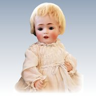 Beautiful Kestner Antique Bisque Baby Doll 14""