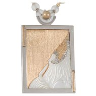 Erte Beloved State VI Necklace, Pendant, Brooch Erté