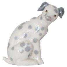 LLADRO Dalmatian Dog Figurine by Juan Huerta #01001260.
