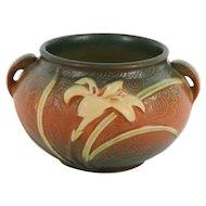 "Roseville – Zephyr Lily 4"" – Jardinière  #671 - 4 Decorative Vase"