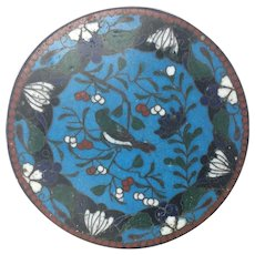 Vintage Chinese genuine enamelled lidded bowl/pot