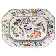 Mid 19th Century Mason's ironstone China meat platter