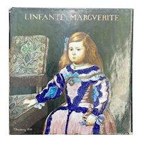 Antique French Tile of Infante Marguerite