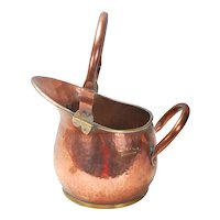 A Stunning 20th century antique handmade copper, and brass water jug/vessel