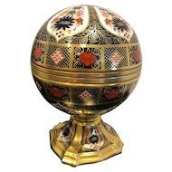 Royal Crown Derby Millennium Globe clock