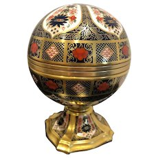 Royal Crown Derby Millennium Globe clock