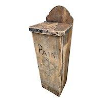 Antique Baguette Box