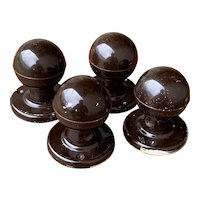 Vintage Bakelite Door Knobs
