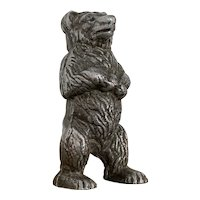 Metal Teddy Bear Money Box