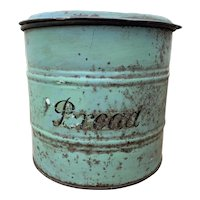 Antique English Bread Bin