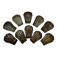 Antique Madeleine Moulds Individual