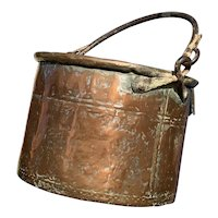 18th Century French Copper Cauldron