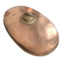 Copper Hot Water Bottle/Bed Warmer - Vintage