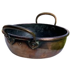 19th Century Copper Cooking Pan