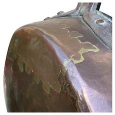 Antique French Copper Saucepan