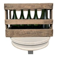 Antique French Wine Crate