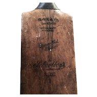 Vintage Cricket Bat 1930s