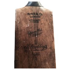 Vintage Cricket Bat 1930s