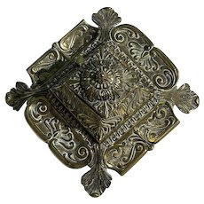 19th Century French Brass Inkwell