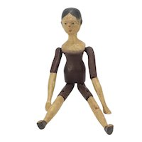 Edwardian Wooden Doll