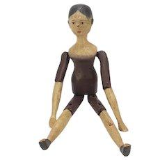 Edwardian Wooden Doll