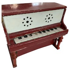 Folk Art Mini Piano English