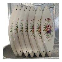 Ceramic Georgian Door Finger Plates