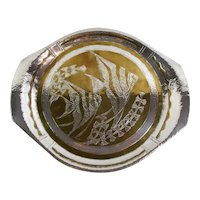 Loys of Paris Art Deco silvered and copper tray
