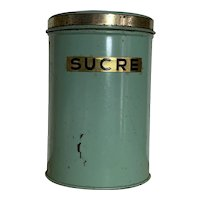 French Sugar Cannister
