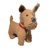 Vintage French Mohair Dog