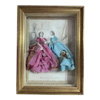 Vintage French Diorama