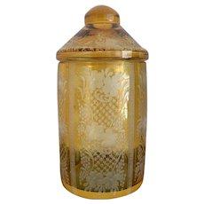 Bohemian Jar 1900