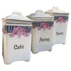 Vintage Kitchen Storage Jars