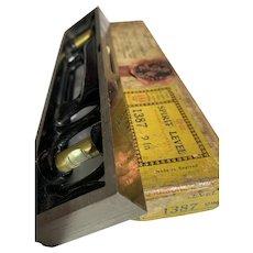A Vintage Rabone Spirit Level in Original Cardboard Box