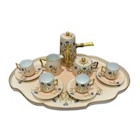 Antique Limoges Hand Painted Cabaret Set