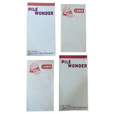 Vintage French Cafe Order Pads
