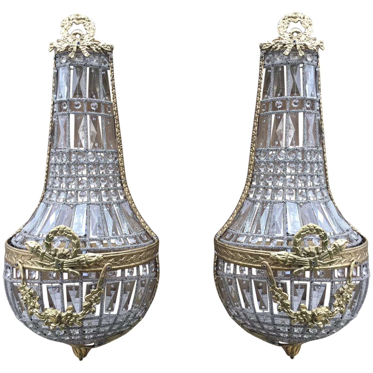 Empire Chandelier Wall Light 99 Curiosities Limited Ruby Lane