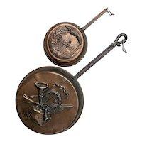 Vintage Copper Decorative Pans