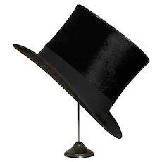 Antique Parisian Top Hat