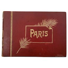 19th Century French Photo Album of Paris