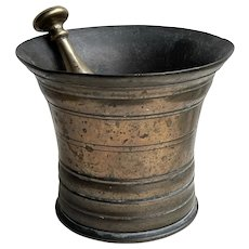 18th Century Pestle and Mortar