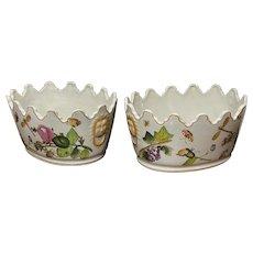 Victorian Porcelain Planters